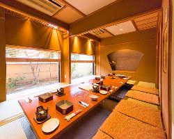 記念日やお祝い・ビジネス利用にも最適な個室が多数