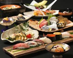 【接待・会食に】 料理長おまかせコース11,000円(税込)