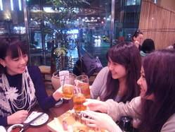 お誕生日おめでとう!親友のバースデーにお寿司でお祝い!