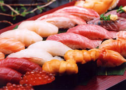 こだわりの新鮮素材が旨い寿司の命。