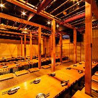 最大60名収容の居酒屋◎団体様のご宴会、飲み会、二次会に◎