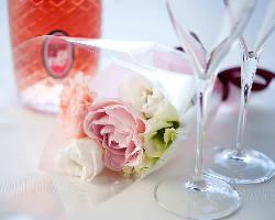 [誕生日・記念日] ケーキやお花などSpecialな特典満載!