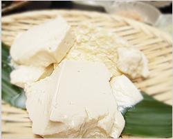 味わい深い生の豆腐の味をどうぞ ◆◆◆ざる豆腐◆◆◆