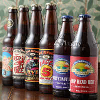 アメリカンIPAは 瓶ビールで11種ご用意