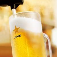 単品料理 + 飲み放題がクーポン利用で1,500円→980円!!(税抜)