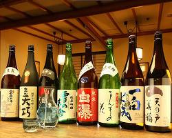 秋田の地酒は旨口! 日本酒通の方にも満足していただけます