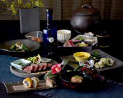 料理コンセプトは、新懐石「伝統×革新」がテーマ。