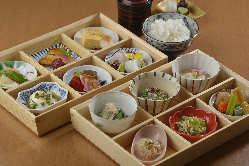 12の小鉢【彩菜御膳】