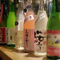 季節の日本酒を続々入荷中♪♪