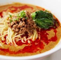 名物】四川担々麺は辛みを利かせた挽肉とゴマの濃厚なスープ