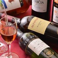 ワイン大国スペイン、さまざまな地方のワインをご用意してます!