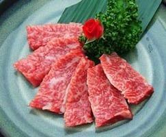 トップランクの新鮮な和牛肉! 当店自慢の『和牛カルビ』