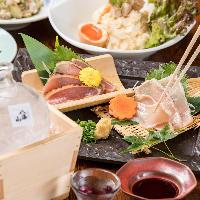宴会や飲み会に最適な鶏料理満載のコースを3800円~ご用意。