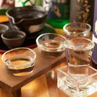 【厳選日本酒】季節限定酒も充実しております。