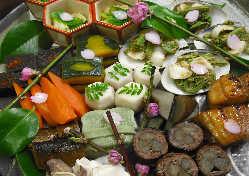 オードブル・押し寿司・天麩羅など単品料理も承ります