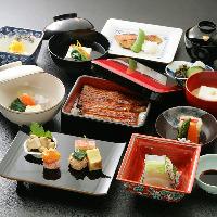 蒲焼と四季映す旬菜が彩る会席料理はお一人様3500円~ご用意。