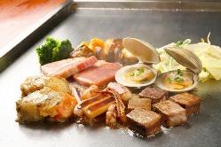 海鮮や肉類など食材にこだわり♪各種メニュー取り揃えております