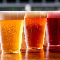 人気のクラフトビール「TOKYO隅田川ブルーイング」も飲み放題