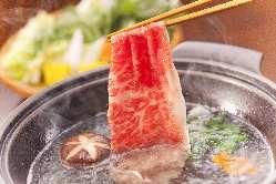 ほどよく火を通して、柔らかなお肉をお召し上がり下さい。