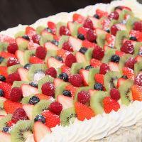 結婚式2次会などお祝いにデコレーションケーキをご用意