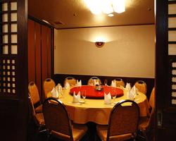 【円卓個室】ご会食や接待に人気。
