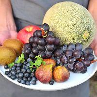 【フルーツ】 天然の甘味を使用したパフェやジェラートが自慢