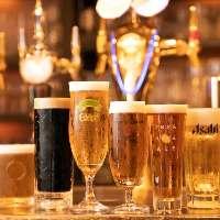 [約60種のビール] 王道からフルーティーで飲みやすいものまで◎