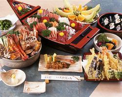 江戸を感じるコース料理 屋形船の醍醐味!天ぷら&お刺身