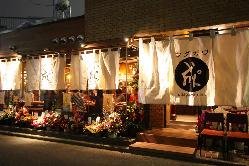 渋谷の隠れ家的お店です。お忍びでもどうぞ♪