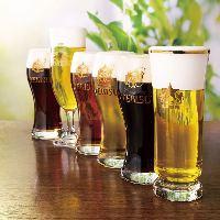 自慢の生ビールは全7種類!