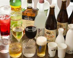 [ドリンクも充実◎] お酒が好きな方も苦手な方も楽しめる品揃え