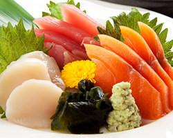 その日一番の鮮魚を 刺身でご提供致します!