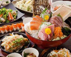 宴会コースは2500円からご用意!