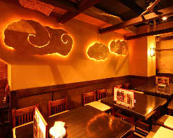 少人数~貸切宴会までどうぞ! 恵比寿で嬉しいワンフロア店内。