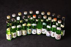 【人気の小瓶シリーズ】 全国各地の地酒23種類を飲み比べ