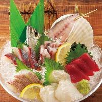 鮮魚5点盛り1,290円♪