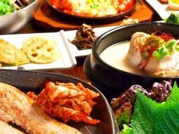 KOREAN DINING長寿韓酒房 銀座店の画像