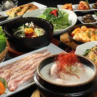 2ヶ月毎に新しくなる長寿韓酒房のコース料理!チェックしてね♪