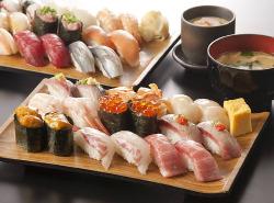 大人気のお寿司食べ放題!女性はお得!