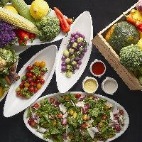有機野菜・無農薬野菜を使ったヘルシーで美味しい上質料理を堪能