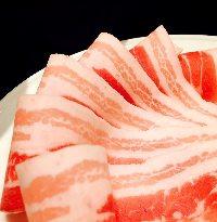 希少種、夢の大地豚バラ肉も食べ放題にて