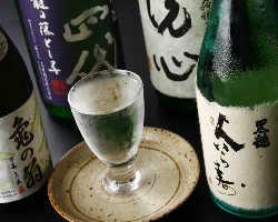 地酒、本格焼酎を多数ご用意。「旬」を注ぐ贅沢を【八吉】で…♪