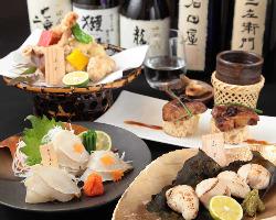 厳選素材 水炊き鍋 をはじめ・鳥料理・直送鮮魚・のど黒