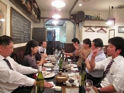 毎月開催食事会【旬の食材とワイン】