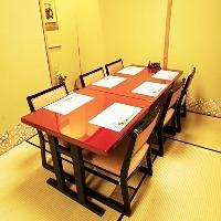テーブルのお席が 増えました。