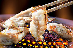 味を3種類からチョイスする イチオシの焼きふぐ!