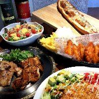 食事が自慢の宴会コースは4,000円~!
