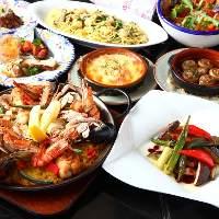 スペインにとりつかれたオーナー 渾身の料理の数々