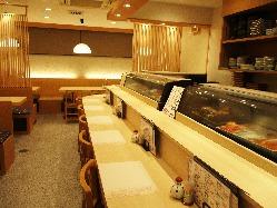 熟練の職人が握った本格江戸前寿司をお楽しみください