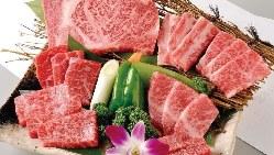 【豪華】和牛食べつくし七種盛り!3人前6,980円~ご用意◎